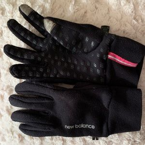 New balance touch screen running gloves